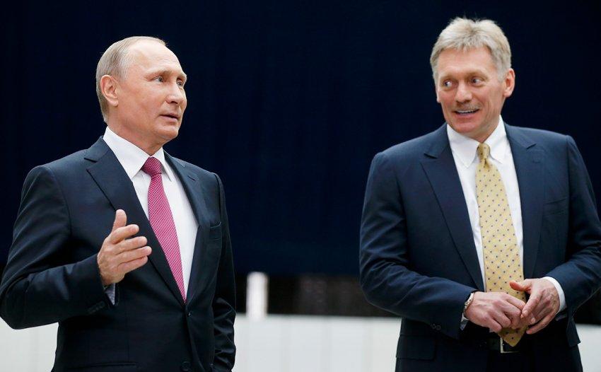 Пресс-секретарь Песков заявил, что образ жизни президента Путина на самоизоляции не изменился
