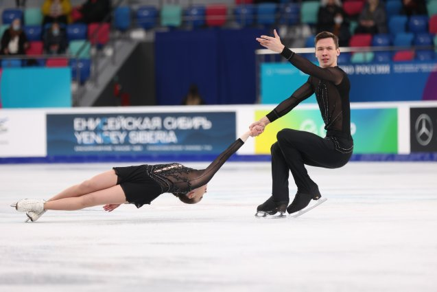 Город Красноярск рассматривают для базы подготовки фигуристов к Олимпиаде в Пекине