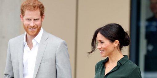 Принца Гарри и Меган Маркл обсмеяли на премии «Эмми – 2021»