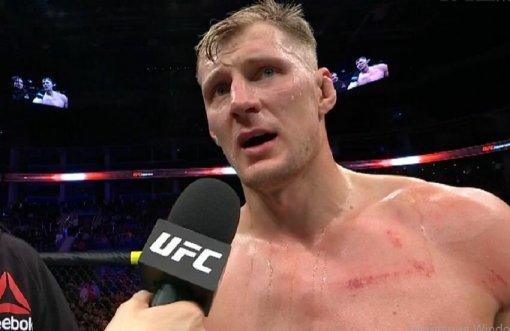 Боец UFC Александр Волков рассказал о причинах своего поражения Сирилу Гану