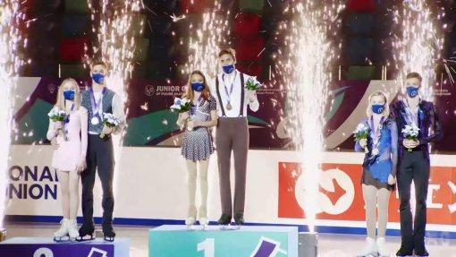Пара Чикмаревой и Янченкова одержали победу на юниорском Гран-при среди юниоров в Красноярске