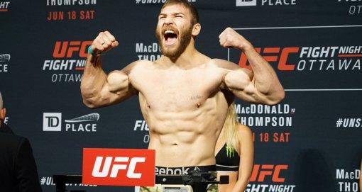 Молдавский боец Ион Куцелаба победил американца Девина Кларка на UFC UFC Vegas 37