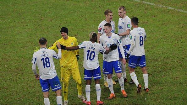 ФК «Динамо» выиграл товарищеский матч с «Химками» со счетом 5:0