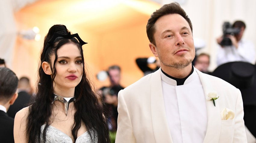 Основатель SpaceX Илон Маск и канадская певица Граймс объявили о расставании