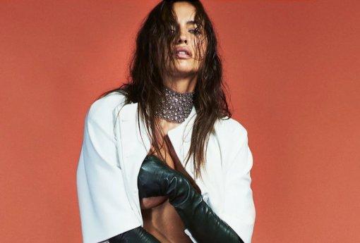 Модель Ирина Шейк впервые прокомментировала слухи о романе с рэпером Канье Уэстом