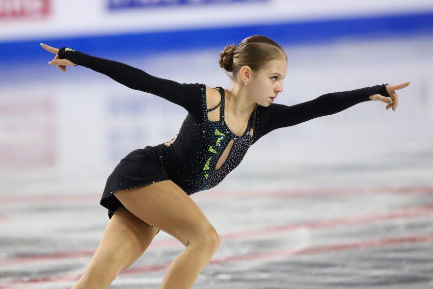 Российская фигуристка Трусова стала первой женщиной, исполнившей пять четверных прыжков в программе