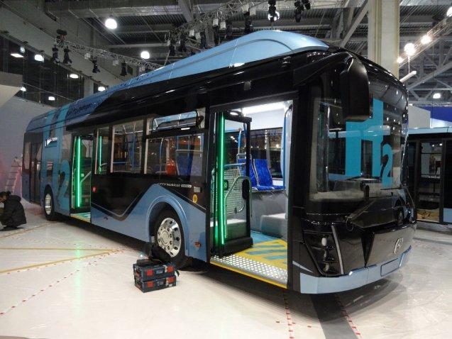 """Предприятие """"ГАЗ"""" представило новый автобус CITYMAX Hydrogen на водородном топливе"""