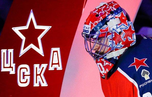 Хоккеисты ЦСКА поддержали своих футбольных одноклубников перед матчем со «Спартаком»