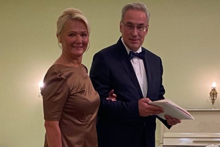 Телеведущий Андрей Норкин отметил свадьбу в Подмосковном клубе-курорте