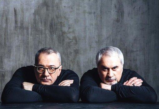 Братья музыканты Константин и Валерий Меладзе не позвали жён на день рождения матери