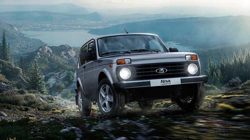 Российский внедорожник Lada Niva Legend пользуется популярностью в Европе несмотря на запрет ввоза