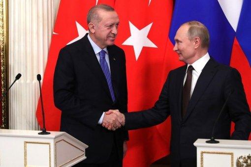 """Глава Турции Эрдоган рассчитывает на принятие """"важных решений"""" на переговорах с Путиным 29 сентября"""