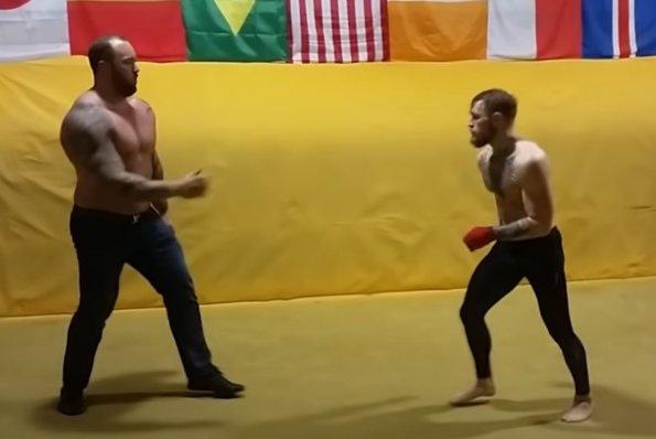 Актёр из «Игры престолов» рассказал о спарринге с ирландским бойцом Макгрегором