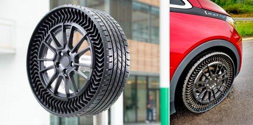 Технология нового поколения: безвоздушные шины Michelin Uptis